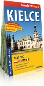 ExpressMap praca zbiorowa comfort! map Kielce. Laminowany, kieszonkowy plan miasta 1:20 000