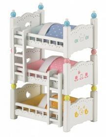Sylvanian Families Potrójne łóżko piętrowe 4448