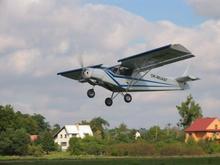 Lot samolotem ultralekkim Wrocław 10 minut TAAK_LSUW1