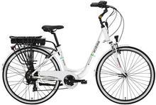 Rower elektryczny EcoBike City L White 250W