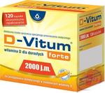 Oleofarm D-Vitum Forte 2000 120 szt.