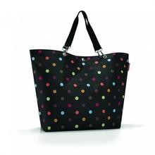 Reisenthel Torba Shopper XL dots - czarny