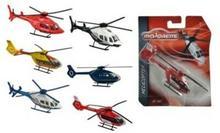 Majorette helikoptery, 6 rodzajów