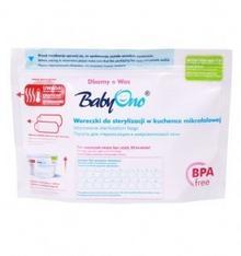 BabyOno Woreczki do sterylizacji w kuchence mikrofalowej 5szt