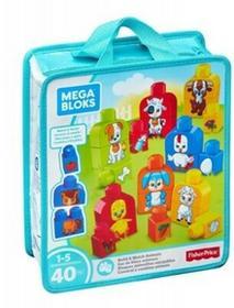 Mega Bloks Buduj i dopasowuj Zwierzęta  FLT36