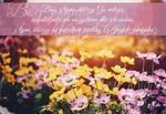 Kartka składana Bóg z tymi którzy go miłują