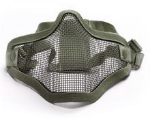 Action Sport Games Maska ochronna typu Stalker ASG Lower Half Metal - Olive (180