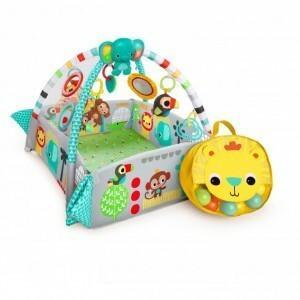 Bright Starts Plac Zabaw Fikająca Małpka z piłeczkami 10754