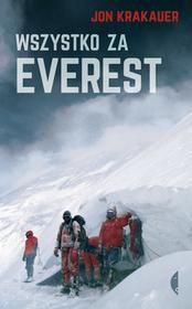 Czarne Wszystko za Everest - Jon Krakauer
