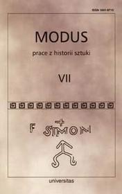 Modus Prace z historii sztuki t.V
