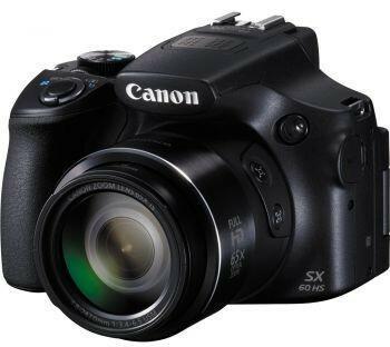 Canon PowerShot SX60 HS czarny