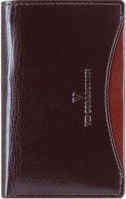 Wittchen V06-02-133-45 Etui na karty kredytowe ciemny brąz