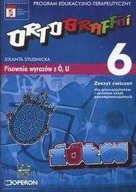 Operon Ortograffiti. Pisownia wyrazów z Ó, U - zeszyt ćwiczeń, gimnazjum, szkoła ponadgimnazjalna - Jolanta Studnicka