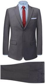 vidaXL 2-częściowy garnitur biznesowy męski szary rozmiar 54