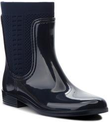 e5923a5a1a7f1 -27% Tommy Hilfiger Kalosze Tommy Knit Rain Boot FW0FW02940 Midnight 403