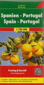 Freytag&Berndt Hiszpania Portugalia mapa 1:700 000 Freytag & Berndt