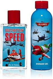 Disney Planes Duo zestaw Eau de Toilette 75 ML i żel pod prysznic, 1er Pack (1 X 1 sztuki) DPL2608