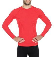 Brubeck Męska koszulka Active Wool LS12820