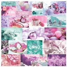 Papier 30x30 cm Elegantly Festive - cards 1