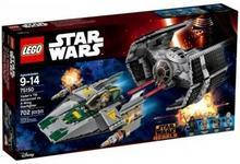 LEGO Star Wars TIE Fighter kontra Myśliwiec A-Wing 75150