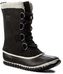 Sorel Śniegowce Caribou Slim NL2649 Black 010