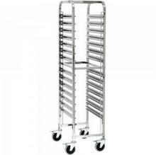 Stalgast Wózek transportowy gn 1/1 / H: 1735 mm / D: 550 mm / W: 380 mm / 662111