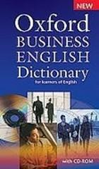 Oxford Business English Dictionary + CD PRACA ZBIOROWA