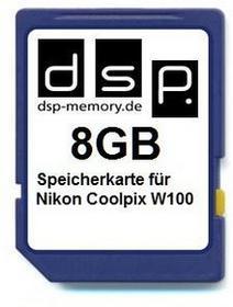 DSP Memory parent for Nikon Coolpix W100 8gb Z-4051557438224