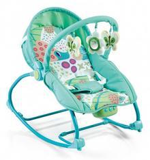 Baby Mix LeĹźaczek niemowlęcy z muzykÄ i wibracjÄ BR212-039G ALEXIS 33418