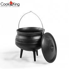 Cookking = Kociołek afrykański żeliwny 9l