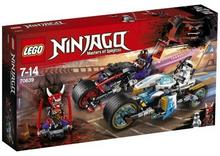 LEGO NINJAGO, klocki Wyścig uliczny Wężowego Jaguara, 70639