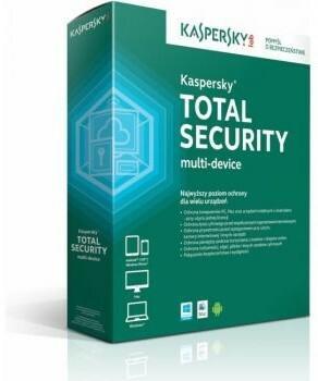 Kaspersky Total Security Multi Device (2 stan. / 1 rok) - Nowa licencja