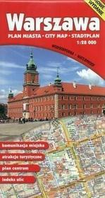 GAUSS Warszawa - plan miasta, mapa wodoodporna (skala 1:28 000) - Opracowanie zbiorowe