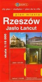 Daunpol Rzeszów. Plan miasta skala 1:15000 - Praca zbiorowa