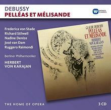 Debussy Pelleas Et Melisande CD) Herbert von Karajan Chor der Deutschen Oper Berlin Berliner Philharmoniker