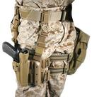 BLACKHAWK Kabura udowa Level 2 Tactical Serpa do pistoletów Colt 1911 (430503CT-