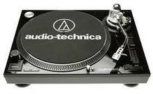 Audio Technica AT-LP120-HC gramofon z napędem bezpośrednim,srebrny, interface USB + wkładka AT95