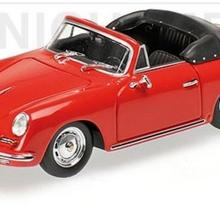 Minichamps Porsche 356 B Cabriolet 1960 red
