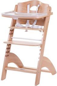 Childhome Krzesełko do karmienia Childhome Lambda 2 HCLCN naturalne drewno