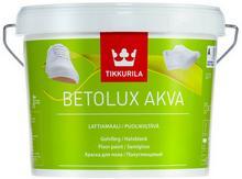 Tikkurila BETOLUX AKVA- farba do drewnianych i betonowych podłóg, baza A, 9l