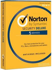 Symantec Norton Security Deluxe 5PC / 1Rok