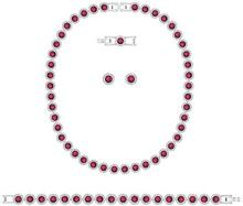 Swarovski Swarovski Angelic Set All-Around Red Rhodium-plated