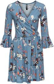 Bonprix Sukienka shirtowa jasnoniebieski w kwiaty