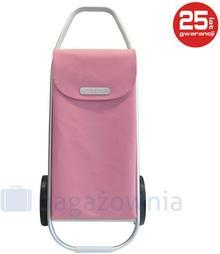 ROLSER Wózek na zakupy COM 8 Różowy - różowy Wózek na zakupy COM Soft 8 Rose - NOWOŚĆ!