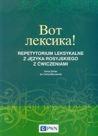 Wydawnictwo Szkolne PWN Wot leksika! Repetytorium leksykalne z języka rosyjskiego z ćwiczeniami - Anna Ginter, Tulina-Blumental Ija