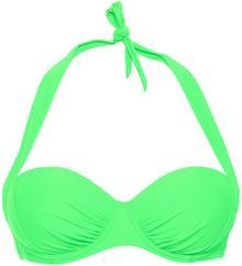 Bonprix Biustonosz bikini na fiszbinach zielony miętowy