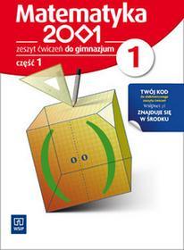 WSiP praca zbiorowa Matematyka 2001. Klasa 1. Zeszyt ćwiczeń. Część 1