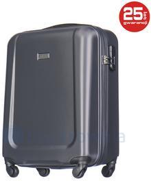 Puccini Mała kabinowa walizka IBIZA ABS04C 8 Szara - szary ABS04C 8