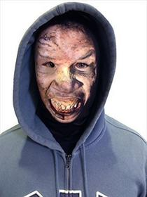 L&S PRINTS FOAM DESIGNS Halloween 3d Face V3Novelty Zombie zabawny materiału Face maska wzornictwo snood maska na twarz wyprodukowane w Yorkshire