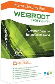 WEBROOT SecureAnywhere Internet Security Plus 3PC/1Rok 2018
